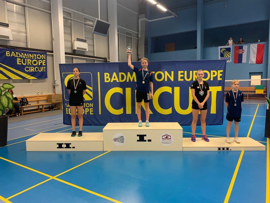 Международный турнир по бадминтону (Alarm Hungaraian Youth International U 15)