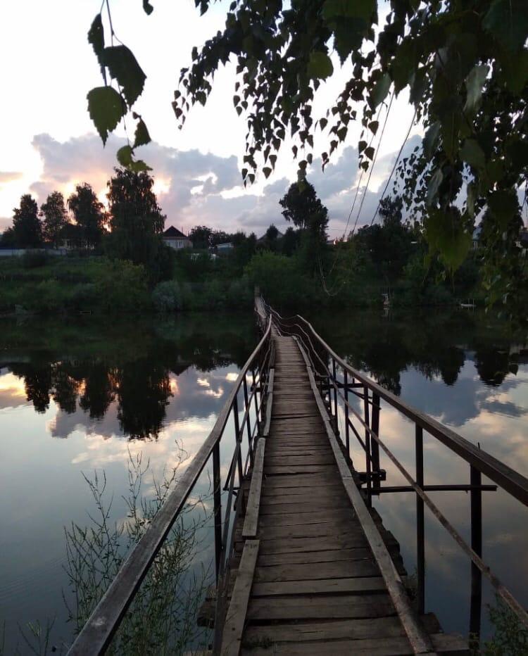 «У природы не бывает повторений»мост с. Большая