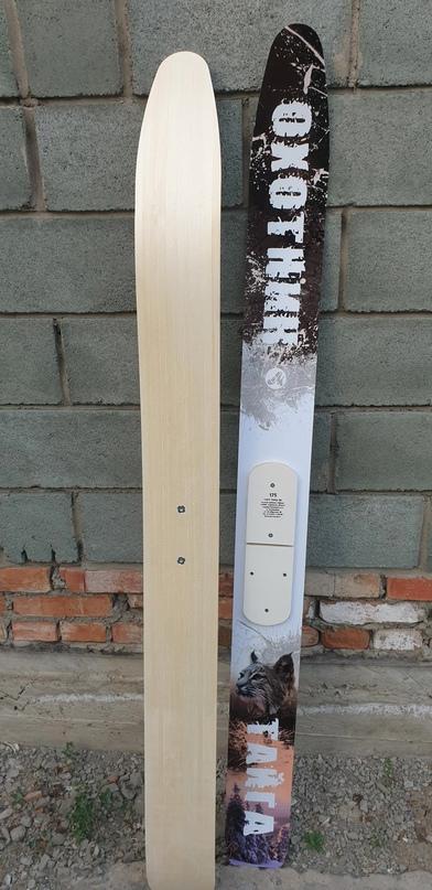 Охотничьи лыжи новые из цельного дерева | Объявления Орска и Новотроицка №28319