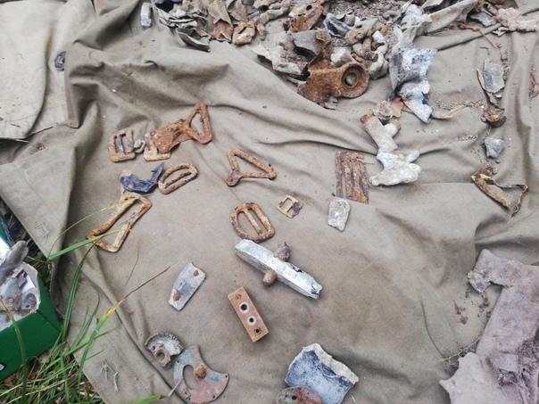 В Шебекинском районе нашли фрагменты одноместного самолёта модели Ла-5. Истребитель был сбит в 1943 году.  Во... Белгород
