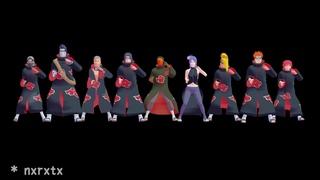 gangnam style【NARUTO MMD】AKATSUKI*ITACHI*DEIDARA*SASORI*KISAME*TOBI*HIDAN*KAKUZU*KONAN*PAIN