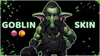 How to paint GOBLIN SKIN (green skin) 🟢 / Cómo pintar la PIEL de un GOBLIN (piel verde) 🟢