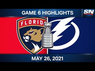 NHL Game Highlights | Panthers vs. Lightning, Game 6 - May 26, 2021