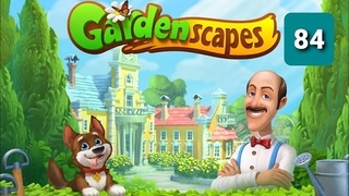 Gardenscapes ☆ Level 84 ☆ Gameplay