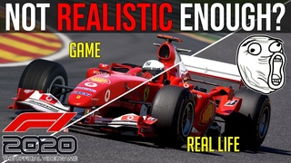 Does F1 2020 Compare to a REAL Simulator?