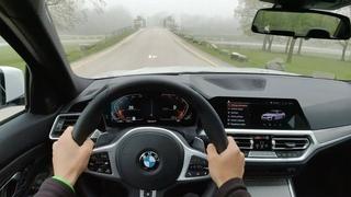2019 BMW 330i xDrive - POV Test Drive (Binaural Audio)