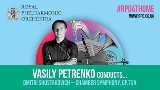 Vasily Petrenko conducts Shostakovich's Chamber Symphony,