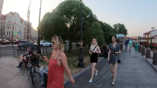 Russia, Walking in Saint-Petersburg, Rabbit island, Peter and Paul Fortress 4K.