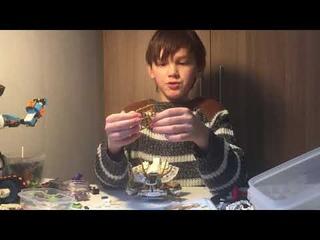 Проверка набора Bella Ультра дракон 11164 (аналог Lego Ninjago Дракон Сэнсея Ву 70734) 989 деталей.