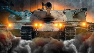 Т57 HEAVY, KRANVAGN И AMX 50 B в ПАТЧЕ БЕЗ ФУГАСОВ!. WOT / СТРИМ
